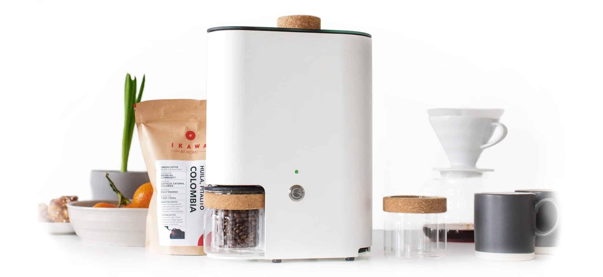 Home Roasting Coffee ~ At home ikawa coffee