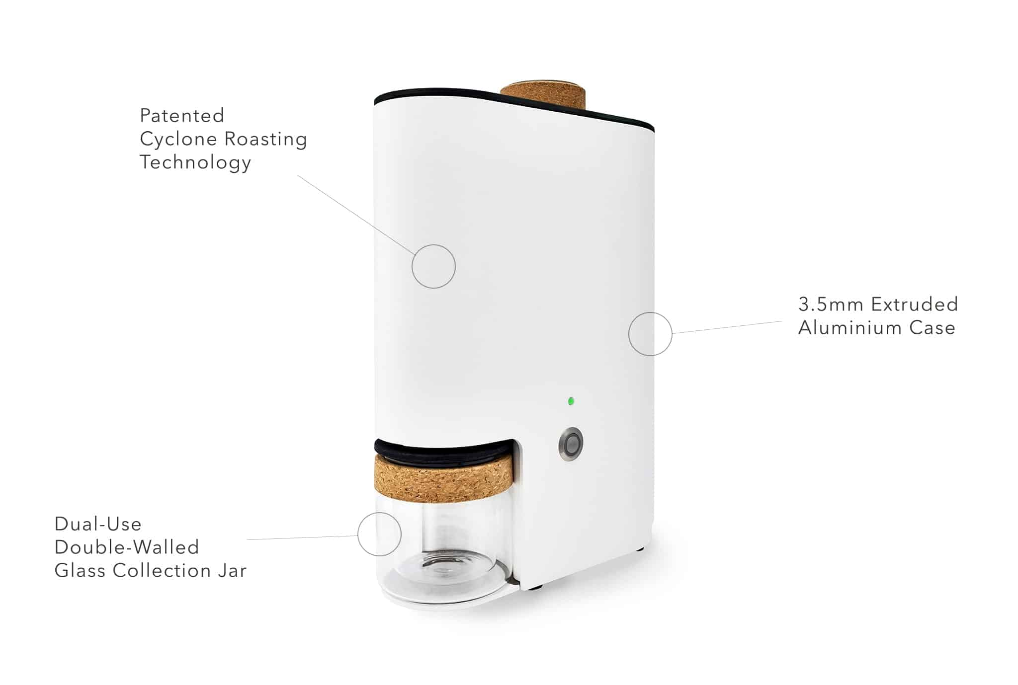 ikawa-at-home roaster-annotated