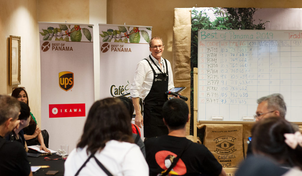 cupping scores at Best of Panama