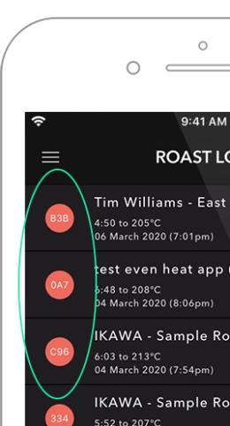blog roast log identifier crop